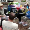 The current Urban Agriculture Facilitator giving community advice